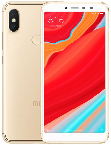 Смартфон Xiaomi RedMi S2 3/32Gb Gold EU фото 3