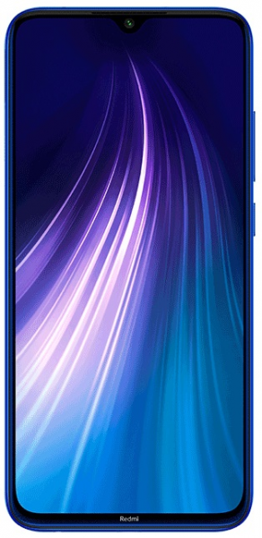 Смартфон Xiaomi Redmi Note 8 3/32GB Blue (Синий) Global Version фото 1