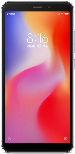 Смартфон Xiaomi RedMi 6A 2/16Gb Черный фото 1