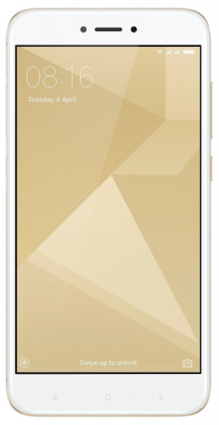 Смартфон Xiaomi RedMi 4X 32Gb Gold (Золотистый) фото 1