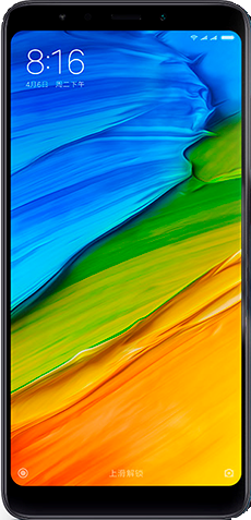 Смартфон Xiaomi RedMi 5 2/16Gb Black (Черный) фото 1