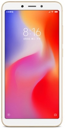 Смартфон Xiaomi RedMi 6 3/64Gb Gold (Золотистый) EU фото 1