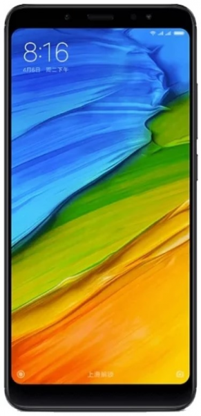 Смартфон Xiaomi Redmi Note 5 3/32 GB Black фото 1