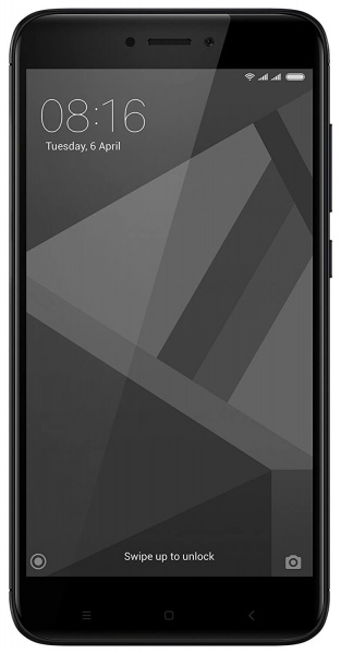 Смартфон Xiaomi Redmi Note 4X 64Gb+4Gb Black фото 1