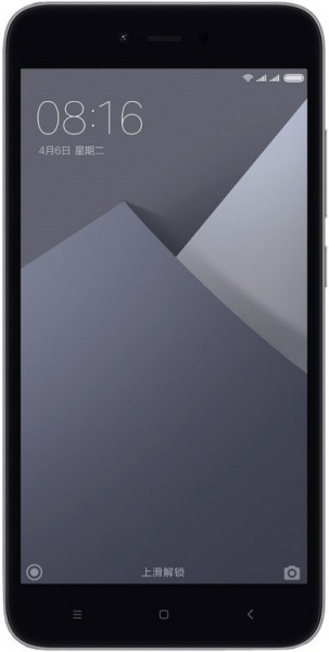 Смартфон Xiaomi Redmi Note 5A 2/16 GB Grey EU фото 1